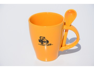 Kávový hrneček Toko se lžičkou