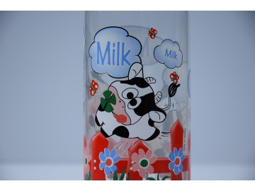 Skleněná láhev na mléko - Clarabella