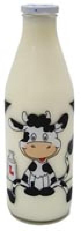 Skleněná láhev na mléko Lottimex